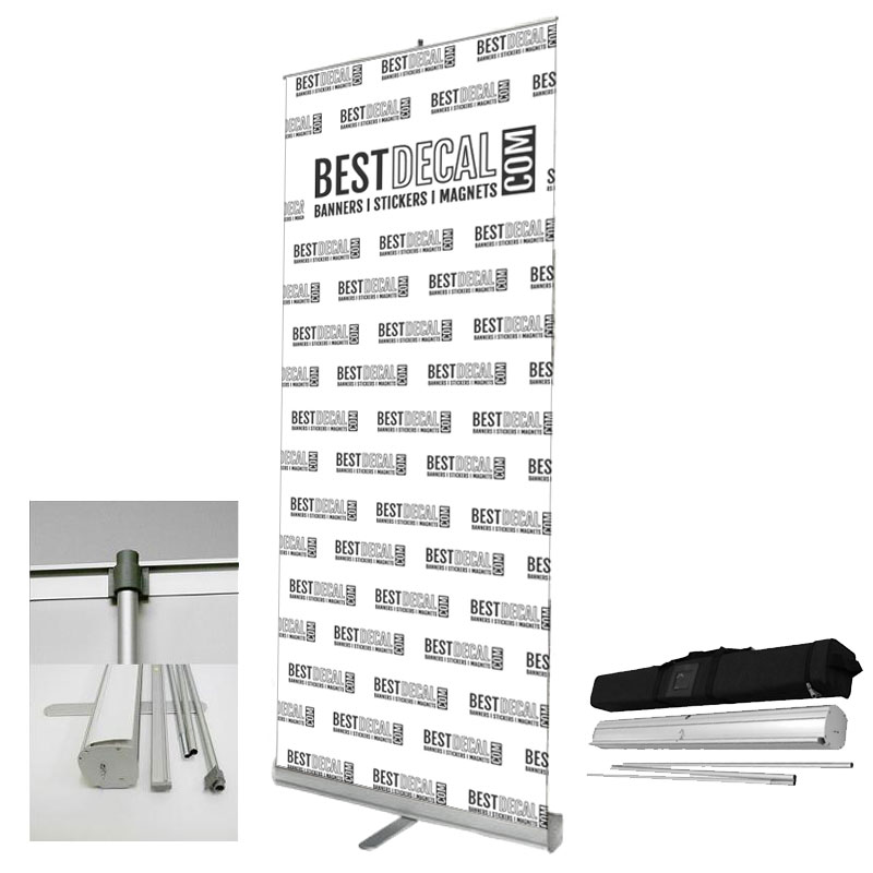 Retractable Banner + Stand