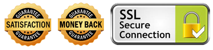 satisfaction money back ssl secure connection